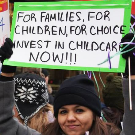 Child care groups urge Premiers to develop a national child care strategy