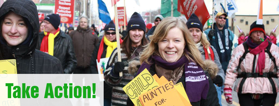 Join us!  Add your voice to the Canadian childcare movement